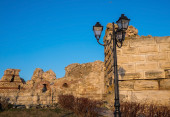 Old Town Nessebar Ruines — 图库照片