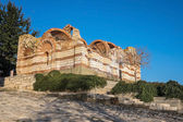 Old Town Nessebar Ancient Ruines One — 图库照片