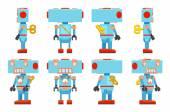 Toy Robot — Stock Vector