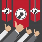 Dictatorship of the Like — Stock Vector
