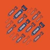Spam bombs — Stock vektor