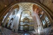 Spanish Cathedral in Segovia. — Stock Photo