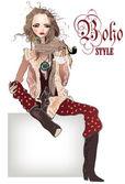 Fashion woman — Stock Vector