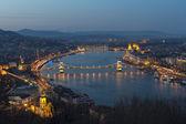 Budapest city Hungary — Stock Photo