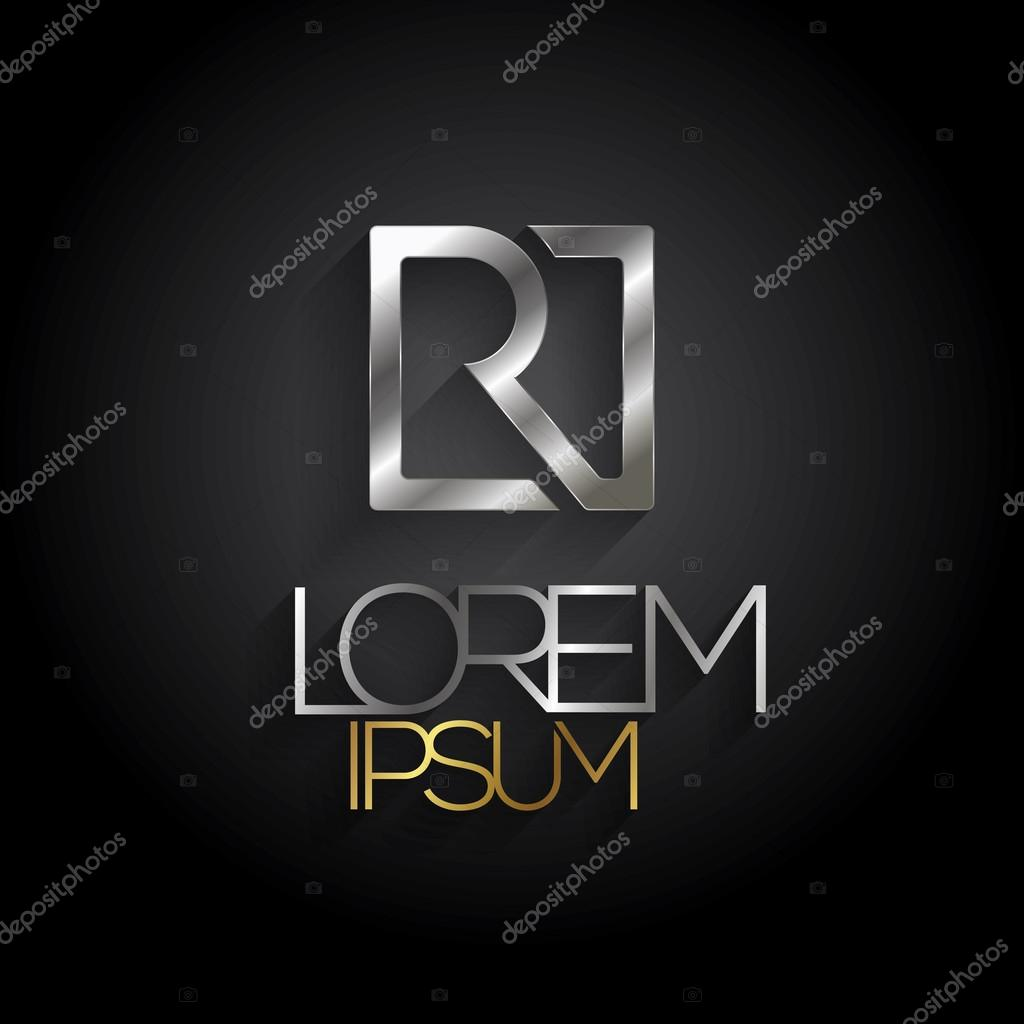 Alphabet R logo design — Stock Vector © ballakornel #74333817