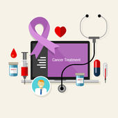 Cancer treatment chemotherapy medicine medical diagnosis — Stock Photo