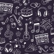 ������, ������: Seamless musical pattern