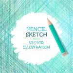 Sketch pencil drawing. — Stock Vector #66399439