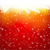Red Christmas  Background — Vector de stock