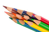 Colored pencils isolated. — Stock Photo