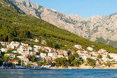 Mountains in Makarska Riviera, Croatia. — Stock Photo