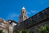 La tour de la vieille église à Split, Croatie. — Photo
