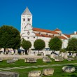 The view of old church and ancient ruins in Zadar, Croatia. — Stock Photo #78417320