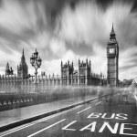 The Big Ben under cloudy sky — Stock Photo #66084157