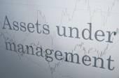 Assets under management — Stock Photo