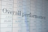 Overall performance — Stock Photo