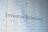 Investor relations — Stock Photo