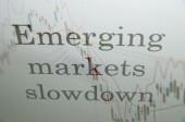 Emerging markets slowdown — Stock Photo