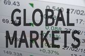 Global markets — Stock Photo