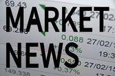 Market news — Stock Photo