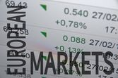European markets — Stock Photo