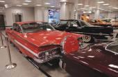 Samochody amerykańskie klasyki — Zdjęcie stockowe