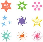 Star, Favorite icon sign — Stock Vector