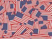 American flag wallpaper — Stock Vector