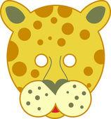 Cartoon Spotty Leopard — Stock Vector
