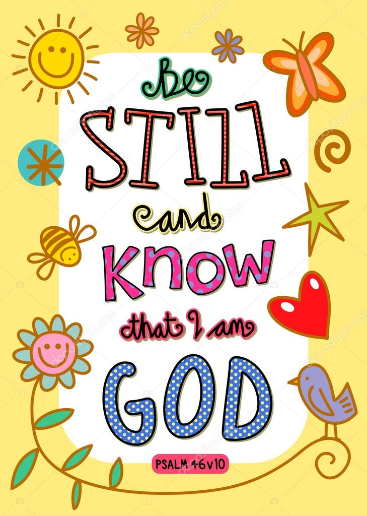 Bible Verse Art — Stock Vector © Prawny #64288123