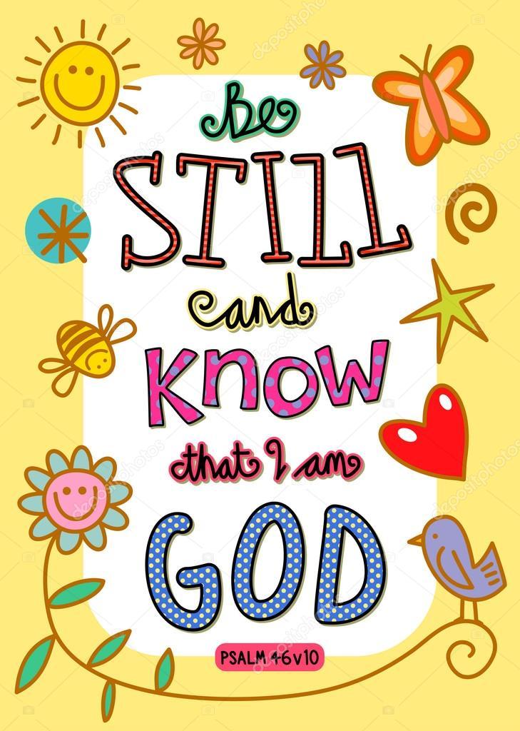 bible verse art � stock vector 64288123