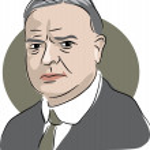 American president Herbert Hoover — Stockvektor  #64294535