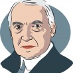 American president Warren G Harding — Wektor stockowy  #64295217