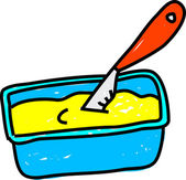 Margarine illustration — Stock Vector
