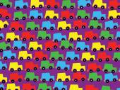 Seamless baby boy pattern — Stock Vector