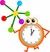 分子時計 — ストックベクタ