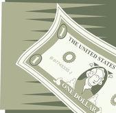 Dollar Cash Icon — Stock Vector