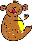 Koala bear illustration — Vettoriale Stock