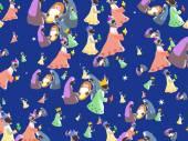 Nativity wallpaper — Stock Vector