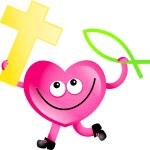 Cartoon Heart character — Stock Photo #65259271