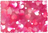 Background with beautiful pink hearts — Zdjęcie stockowe
