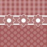 Flower, dot, stripe shape Endless texture. — Stock Photo #65261723