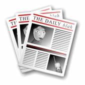 Gazete iş haberleri — Stok fotoğraf
