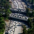 Rush hour traffic on busy freeway — Stock Video #65525445