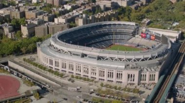Shot of Yankee Stadium — Stock Video