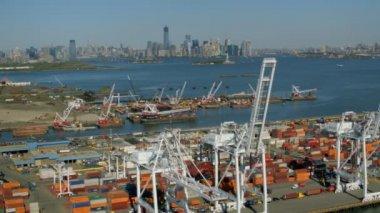 New York docks — Stock Video