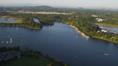 Pacific Northwest scenery — Stock Video