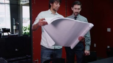 Due giovani imprenditori — Video Stock