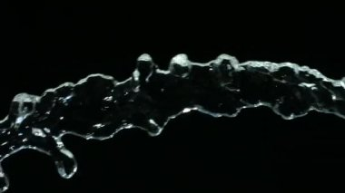 Water flow close up — Stock Video