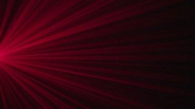 Luce rossa lampeggiante — Video Stock